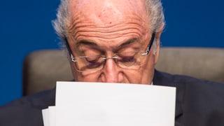 Die letzten Tage der Ära Blatter
