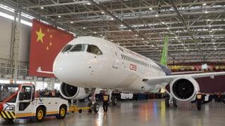 Erstes chinesisches Passagierflugzeug bereit für Testflug