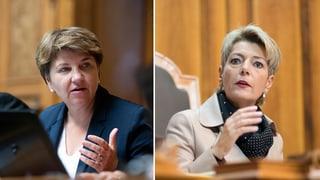 Zwei Frauen als Dreamteam für den Bundesrat?