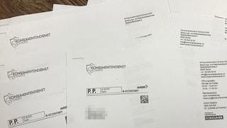 Er tut es wieder: Patrick Dütschler verschickt «Rechnungen»