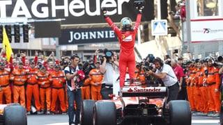 Vettel und Räikkönen beenden Ferrari-Durststrecke in Monaco