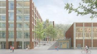 Neue Kantonsschule Ausserschwyz in Pfäffikon kostet 92 Millionen