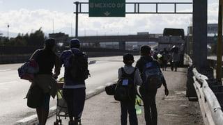 Honduras und Guatemala wollen gegen Migranten vorgehen