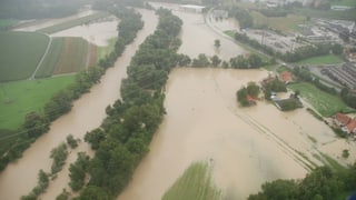 Solothurner Kantonsrat sagt Ja zu Hochwasserschutz an der Aare