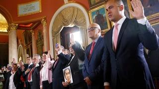 Das Parlament in Venezuela ist entmachtet. Staatschef Nicolás Maduro hält eisern an seinen Plänen fest.