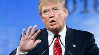 US-Präsidentschaft: Trump führt die Riege der Republikaner an