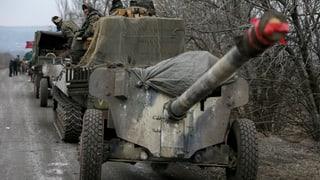 OSZE bestätigt Teilabzug von Waffen