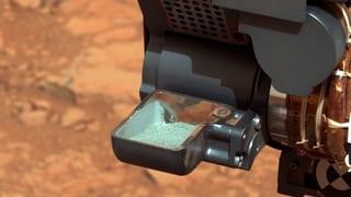 «Historisch»: Erster Mars-Staub im Köcher