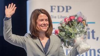 Petra Gössi resta presidenta da la PLD