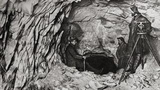 Il cor da la Viafier retica: il tunnel da l'Alvra