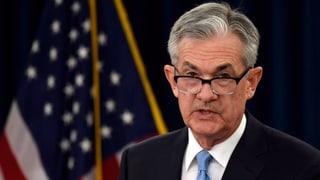 US-Notenbank drückt auf die Bremse