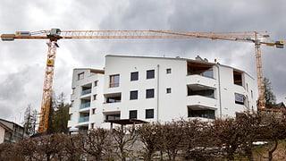 Construcziun d'abitaziuns: 20% damain investiziuns