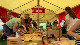 RTR a la festa d'uffants a Laax