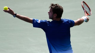 So lief Wawrinkas Auftakt-Spiel an den US Open