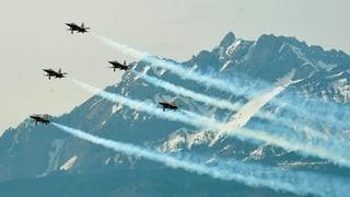 Keine Show der Patrouille Suisse am Luzerner Fest