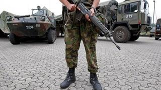 Die Aargauer Regierung will weiterhin die Armee im Kanton