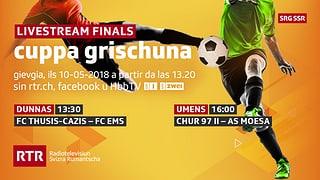 Finals cuppa grischuna  Ils megliers clubs da ballape grischuns 2018