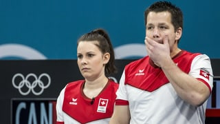 Schweizer Curling-Duo holt Olympia-Silber