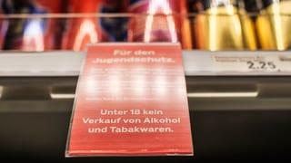 Solothurner Regierung will Gesetz für Alkohol-Testkäufe