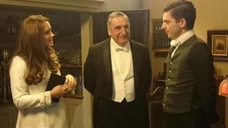 Adel trifft auf TV-Adel: Kate bei «Downton Abbey»