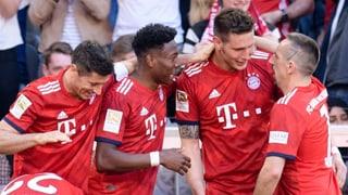 Bayern müht sich zum nächsten Sieg