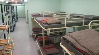 In Baden leben jetzt Flüchtlinge im Notfallspital