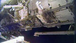 Reparatureinsatz an ISS unerwartet schnell absolviert