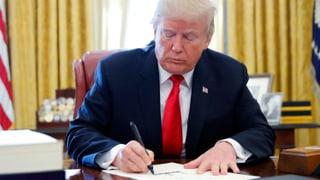 Trump unterzeichnet «seine» Steuerreform