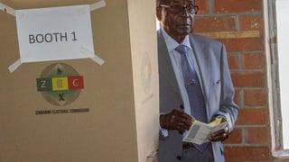 Mugabes Anhänger erklären ihren Sieg