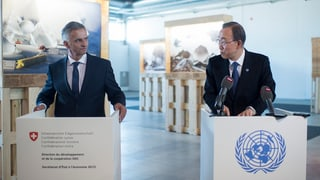 «L'ONU ha ina rolla impurtanta d'intermediar en conflicts»