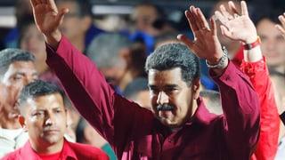 Maduro lässt sich zum Wahlsieger erklären