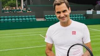 So sympathisch hast du Roger Federer noch nie erlebt