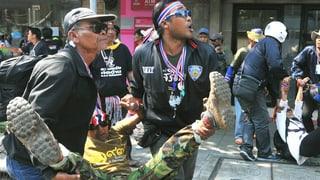 Bangkok: Viele Verletzte nach Explosion an Demonstration