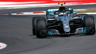 Mercedes gibt im Training den Ton an