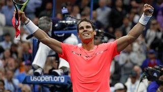 Nadal erteilt Rublew eine Lektion
