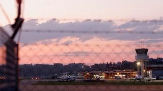 Ein Viertel weniger Flugpassagiere am Flughafen Bern