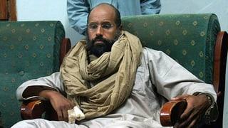 Gaddafi-Sohn in Libyen vor Gericht