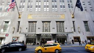 Waldorf Astoria in chinesischer Hand – Obama «zieht aus»