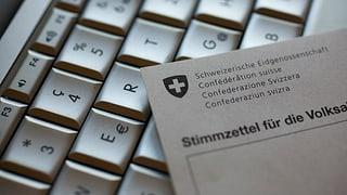 E-Voting: Aargau und Solothurn starten Pilotversuch