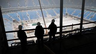 Am 14. Juni 2018 findet in Moskau das Eröffnungsspiel zur Fussball-WM statt. Die Zuschauer, die Kosten, die Arbeiter, die Fragezeichen.