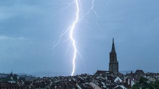 Über 300 Schadenmeldungen in der Region Bern