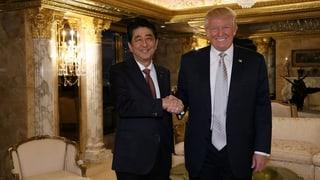 Diplomatisches Debüt für Donald Trump
