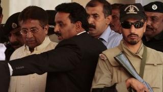 Ex-Präsident Musharraf flieht aus Gericht