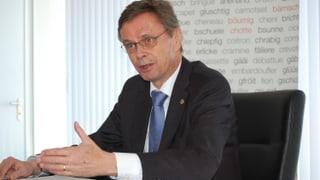 Flüchtlingskrise prägt das Jahr von Regierungspräsident Käser