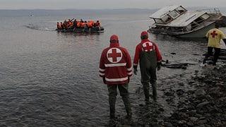 Hunderte Migranten in Griechenland angekommen