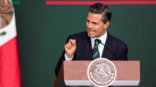 Mexiko will korrupte Polizisten loswerden
