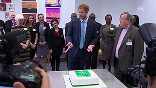 Prinz Harry auf den Spuren seiner Mutter Diana