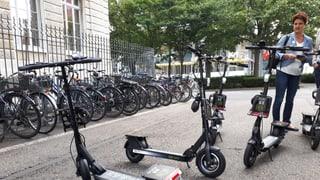 Nach den E-Bikes kommen jetzt die E-Trottis