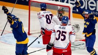 Schweden besiegt Tschechien - Kanada startet erfolgreich