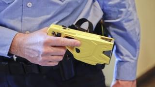 Elektro-Taser für die Stadtpolizei Grenchen